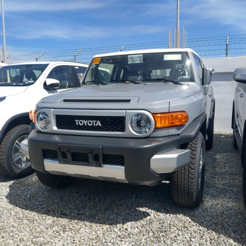 Toyota FJ Cruiser - Gray